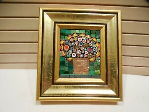ITALIAN MICRO MOSAIC PLAQUE BY ANTONINA PARISI