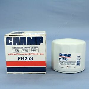 New Champ PH253 Spin-on Engine Oil Filter Replacement