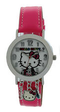 Hello Kitty Analog Watch With Charms SIL-3419 HKKQ5598