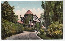 [52410] 1915 Postcard A Residence Section In Spokane, Washington