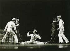 "PHOTO ORIGINALE : BARYCHNIKOV ""FANCY FREE"" New York City Ballet 1979"