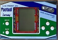 VINTAGE JEU LCD POCKET JEU LANSAY   FOOTBALL A RESTAURER