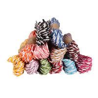 10M 2mm Cotton Twine Wedding Party DIY Craft String Ribbon 11 Divine Colours