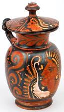 Excellent Greek Apulian Lidded Mug: Ex Kantharos Group Lot 385