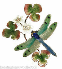 Wall Art - Delicate Dragonfly Metal Wall Sculpture - Wall Decor