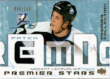 2003-04 Premier Collection LECAVALIER Stars Patch 094/100 Lightning UD VINCENT