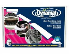 """DYNAMAT Xtreme Sound Deadening Sheets new BLACK 18"""" x 32"""" 3 Sheets ONLY"""
