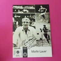 ☆☆☆ Martin Lauer - Original signierte Autogrammkarte, handsigniert, TOP ☆☆☆
