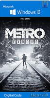 Metro Exodus PC Digital code  Read the description