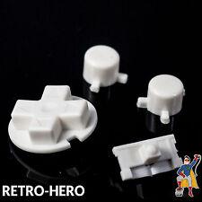 Gameboy Pocket Knöpfe GBP Buttons Game Boy Tasten Pads white Button Knopf Weiß