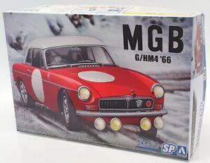 Aoshima 1/24 Scale Model Car Kit 61268 - MGB Club Rally G/HM4 '66