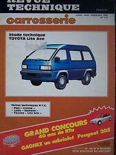 RTA REVUE TECHNIQUE SERVICE CARROSSERIE TOYOTA LITE ACE N°114 1988