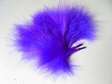 lot 10 plumes marabou violet 10 cm