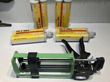 4 New 400Ml Loctite Ez E-40Fl Adhesive 400 Ml With New B26 Dual T400 Gun 08/2021