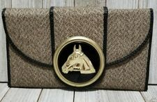 Horse Themed Vintage Wallet Clutch - BINX