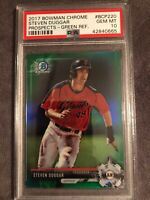 2017 Bowman Chrome Steven Duggar SF Giants Prospect Green Ref PSA 10💎VERY RARE