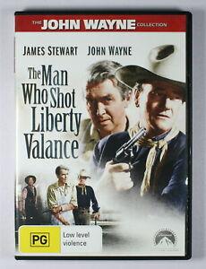 The Man Who Shot Liberty Valance DVD FREE POST