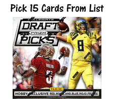 2015 Panini Prizm Draft Picks Singles Pick 15 Cards From List Complete Your Set
