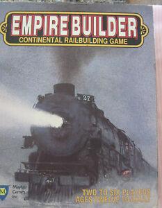 EMPIRE BUILDER Continental RailRoad Building Board Game MAYFAIR GAMES 1988
