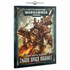 Warhammer 40k - NEW Chaos Space Marines Codex Heretic Astartes II Codex 2019