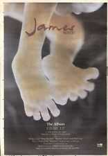 22/2/92Pgn56 Advert: James seven The New Album & Live Video Out Now 15x11""