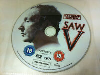 SAW V Extreme Edition DVD R2 - DISC ONLY in Plastic Sleeve