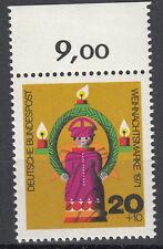 BRD 1971 Mi. Nr. 709 mit Oberrand Postfrisch TOP!!! (27522)