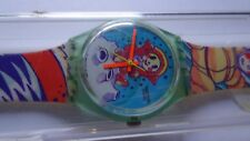 NEW Unworn Vintage Swiss Swatch GG118 YURI Water-resistant 1992 Original Box