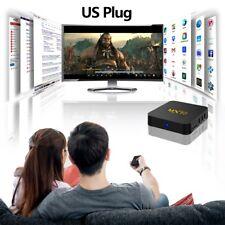 MX10 Smart Android 7.1.2 TV Box RK3328 4K 4GB/32GB WiFi HD Media Player O4F5