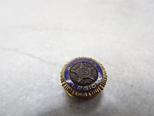 Vintage American Gold Tone Metal and Enamel With Screw Back Legion Lapel/Hat Pin