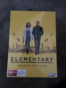 Elementary - Complete Box Set DVD NEW and SEALED - Region 4 - Starring Lucy Liu