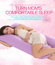 U-Shaped Full Body Pillow Pregnancy Pillow & Maternity Support Bedding Cushion