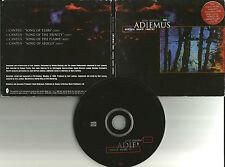 KARL JENKINS Adiemus cantata mundi  4 RARE EDIT EUROPE made PROMO DJ CD single