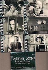 TWILIGHT ZONE 2 THE NEXT DIMENSION (RA 2000) COMPLETE 72 CARD BASE SET W/ WRAP