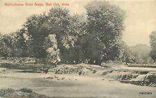 C-1910 Nishnabotna River Red Oak Iowa Simon postcard 12385