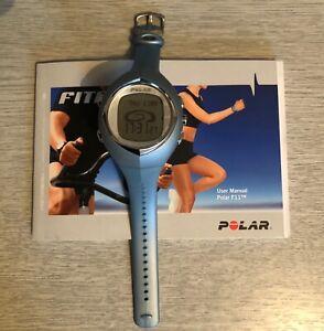 Polar F11 Women's Watch Light Blue DIgital Only watch