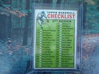1964 TOPPS CHECKLIST NICE CONDITION #188 3RD SERIES