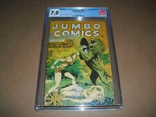 Jumbo Comics #86 CGC 7.0 w/ OW pages 1946! Fiction House not CBCS 0361273010