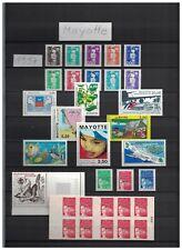 Mayotte 1997 - 2011 kpl. Sammlung cpl. collection ** / mnh