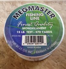 Megmaster Fishing Line 370 Yards 15 lb. Test