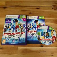 Power UP Heroes Xbox 360 Complete UK PAL Game Good Condition