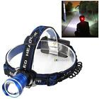 3000 Lumens Zoomable CREE XM-L T6 LED Head Torch Headlamp Headlight SS