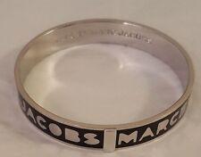 Marc By Marc Jacobs Logo Bangle -Black or Cream -  SM   M3PE609