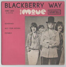 "THE MOVE Roy Wood BLACKBERRY WAY RARE ISRAEL ISRAELI ONLY PS 7"" 45 EP"