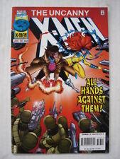 X-MEN UNCANNY #333 MARVEL COMIC ONSLAUGHT APPS JUNE 1996