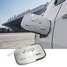 For Jeep Compass 2017-19 Chrome Car External Gas Cap Fuel Tank Cover Trim