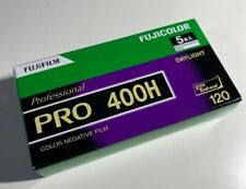 Fujifilm Pro 400H (5roll) 120 Format Color Negative from Japan Expir.2023.01