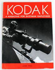 KODAK MAGAZINE FOR EASTMAN EMPLOYEES JUNE 1942
