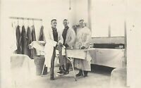 OPERATION ROOM WW1 GERMAN DOCTORS OFFICERS WAR FRONT RPPC ANTIQUE PHOTO POSTCARD
