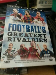 Football Greatest RIVALRIES  10 DVD Box Set Limited Edition